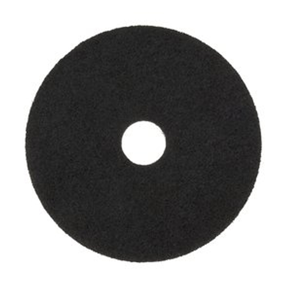 "3M Products Black 19"" Stripper Floor Pad 7200"