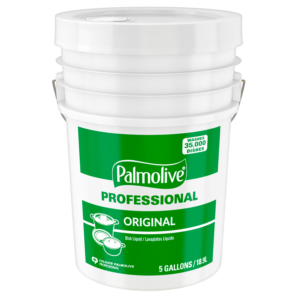Colgate/Palmolive Green 5 Gallon Pail Palmolive   Manual Dishwashing Liquid And Hand Soap 04917