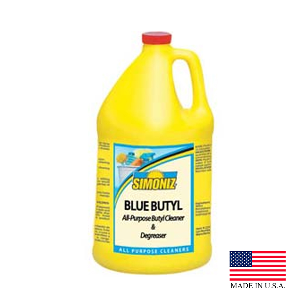 Simoniz USA Inc. - Blue Butyl 1 Gallon All Purpose Cleaner And Degreaser (Variety Of Surfaces)