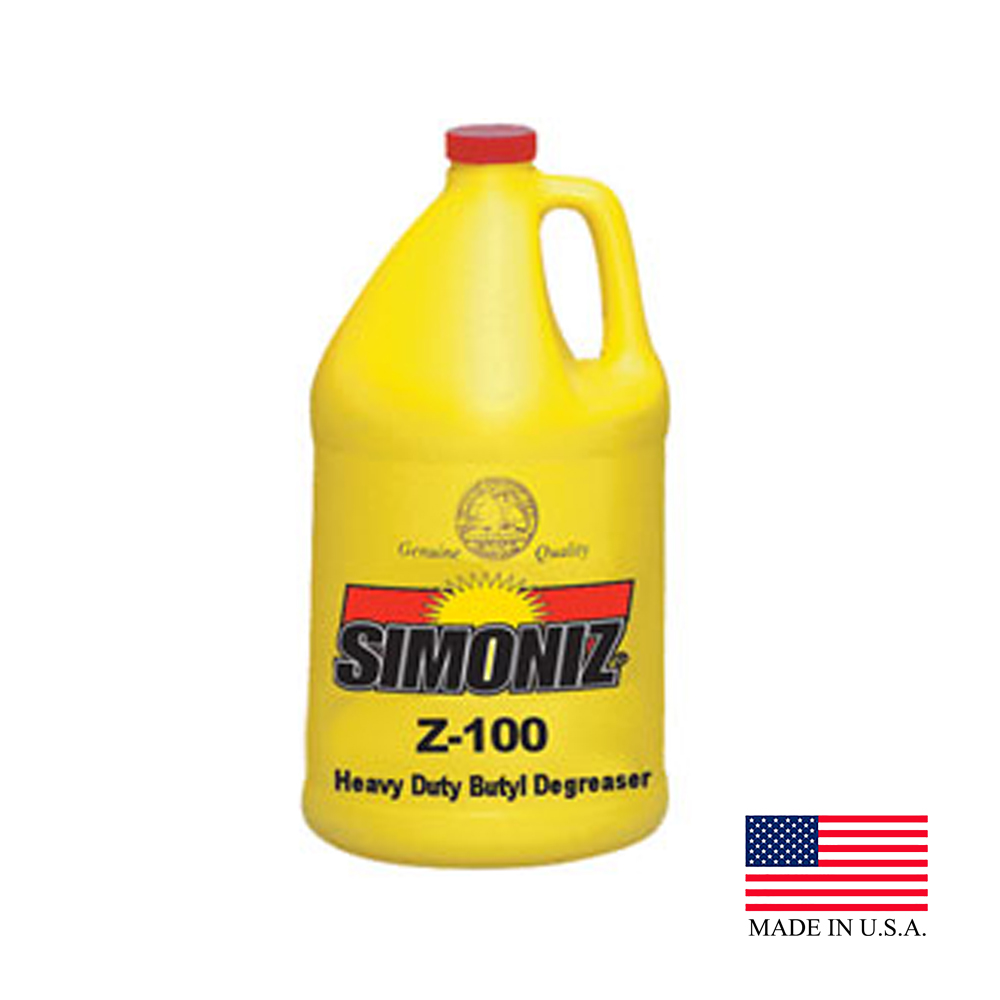 Simoniz 1 Gallon Z-100 Heavy Duty Butyl Degreaser (variety Of Grease/oils) Z4565004