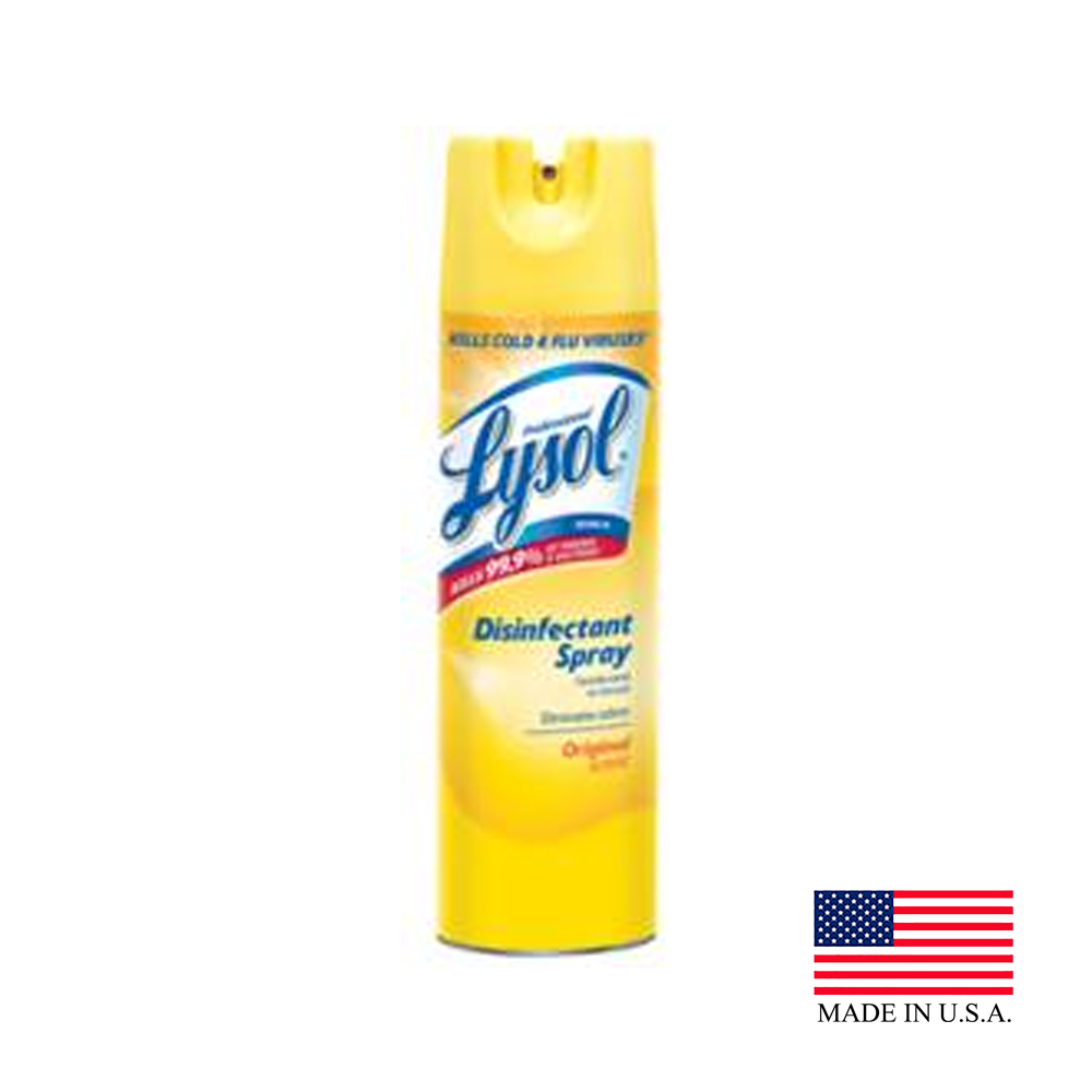 Reckitt Benckiser 19oz Lysol Disinfectant Original Scented Spray 04650