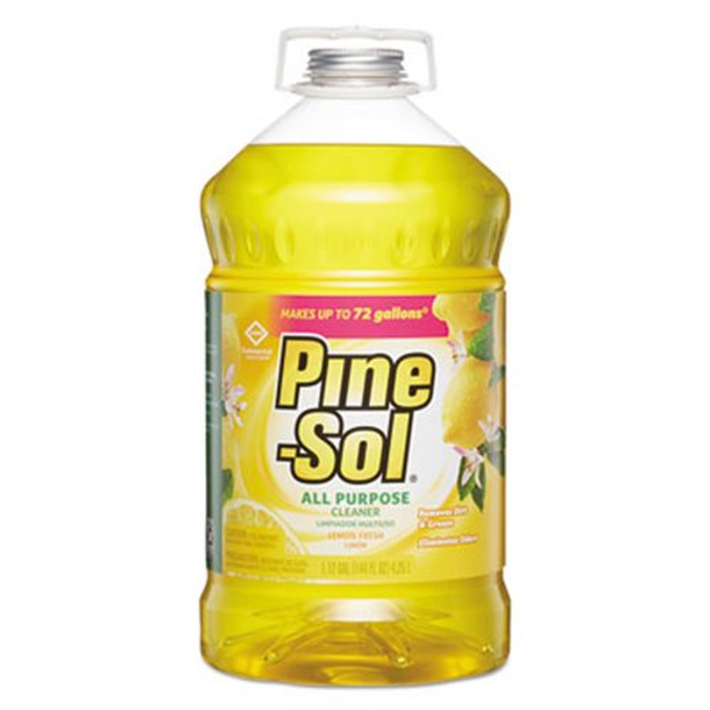 The Clorox Sales Company Yellow 144oz Pine-Sol    Lemon Scented Liquid Cleaner Non-Disinfectant