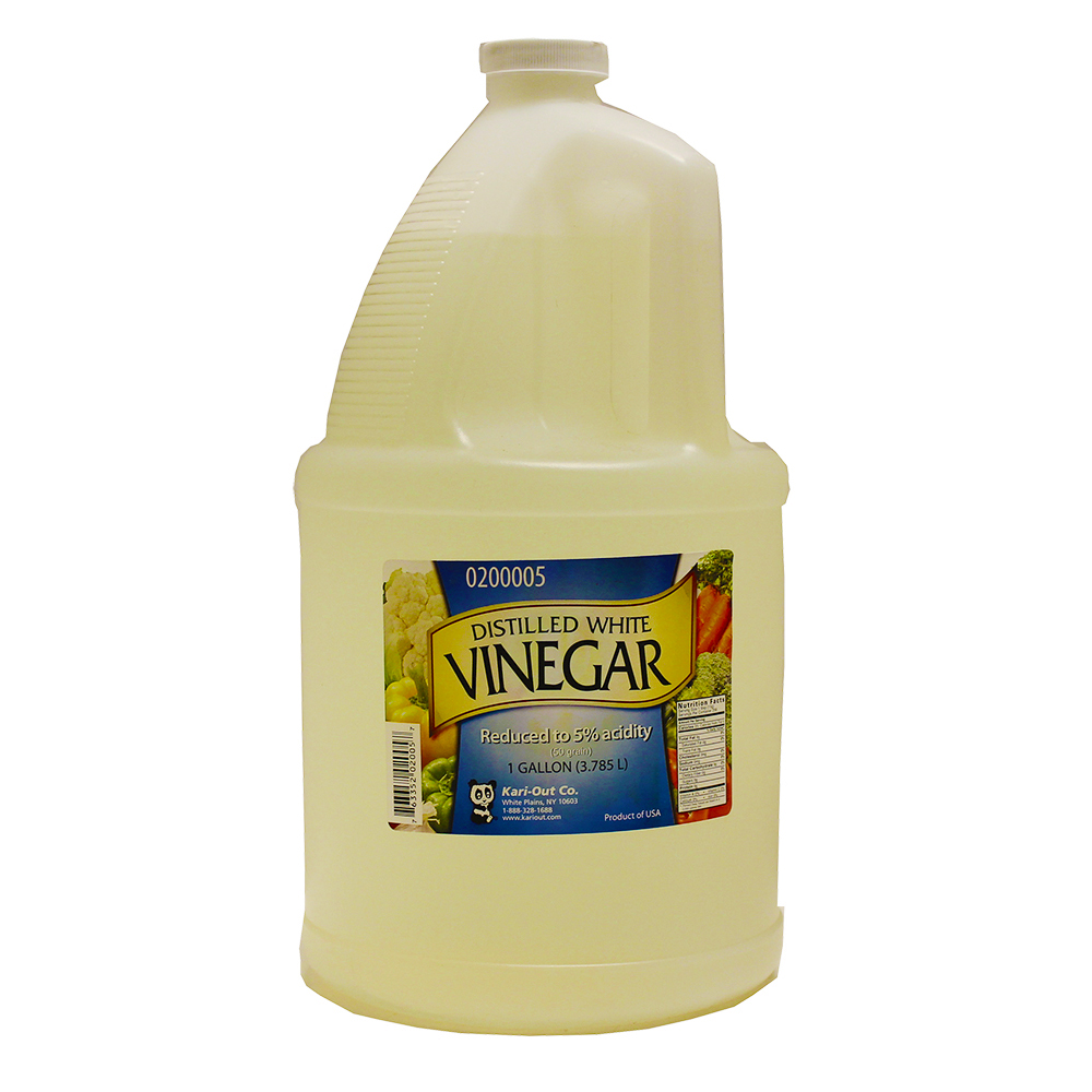 White 1 Gallon Distilled Vinegar VINEGAR