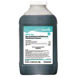 Diversey/SC Johnson 2 Liter Crew NA Non-Acid Bowl And Bathroom Cleaner 5546264