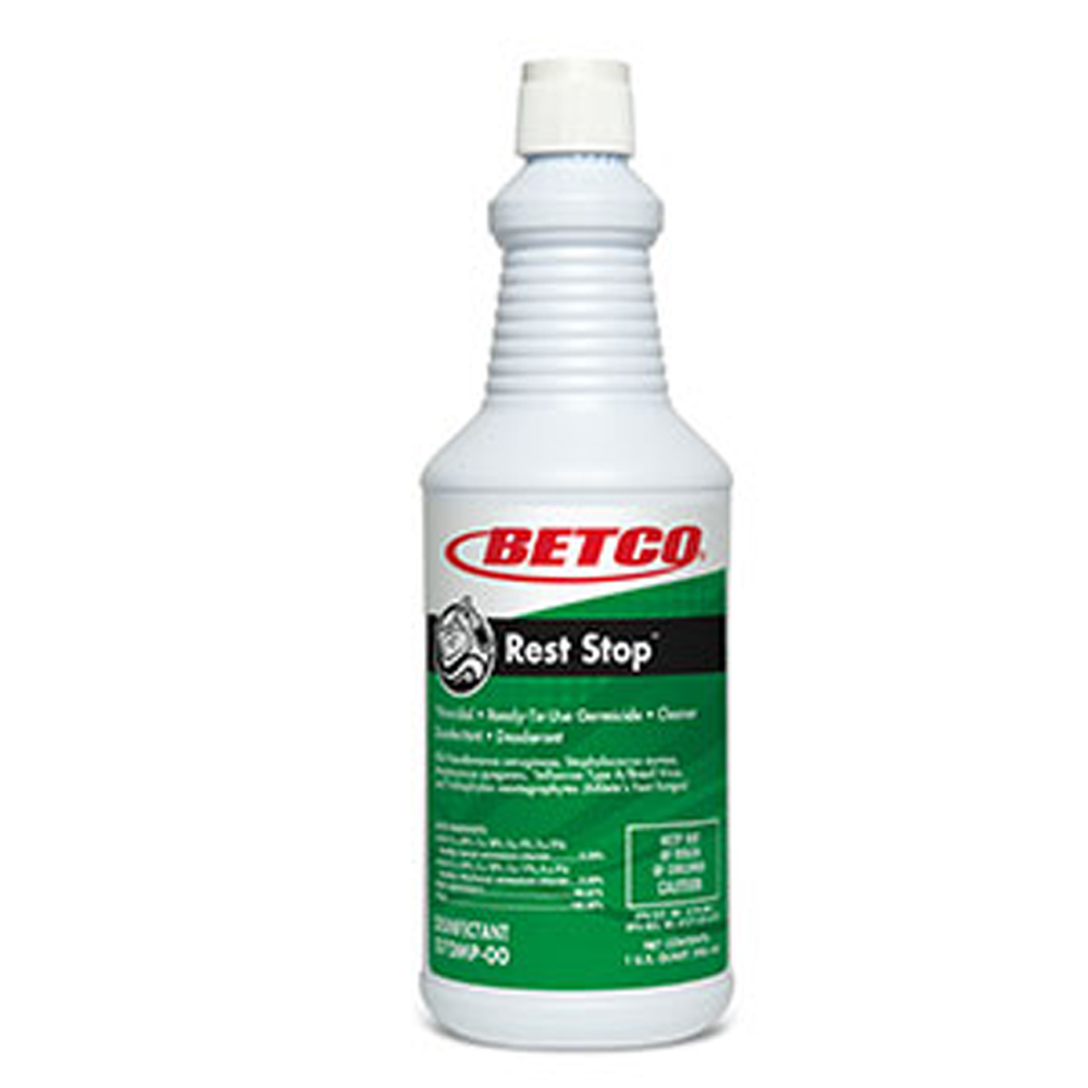 Betco Corp. - Rest Stop 1 Qt Acid Free Restroom   Disinfectant 0701200