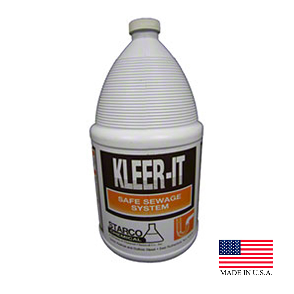 Starco Chemical - Kleer It 1 Gallon Drain Liquid Cleaner And Deodorizer 9405
