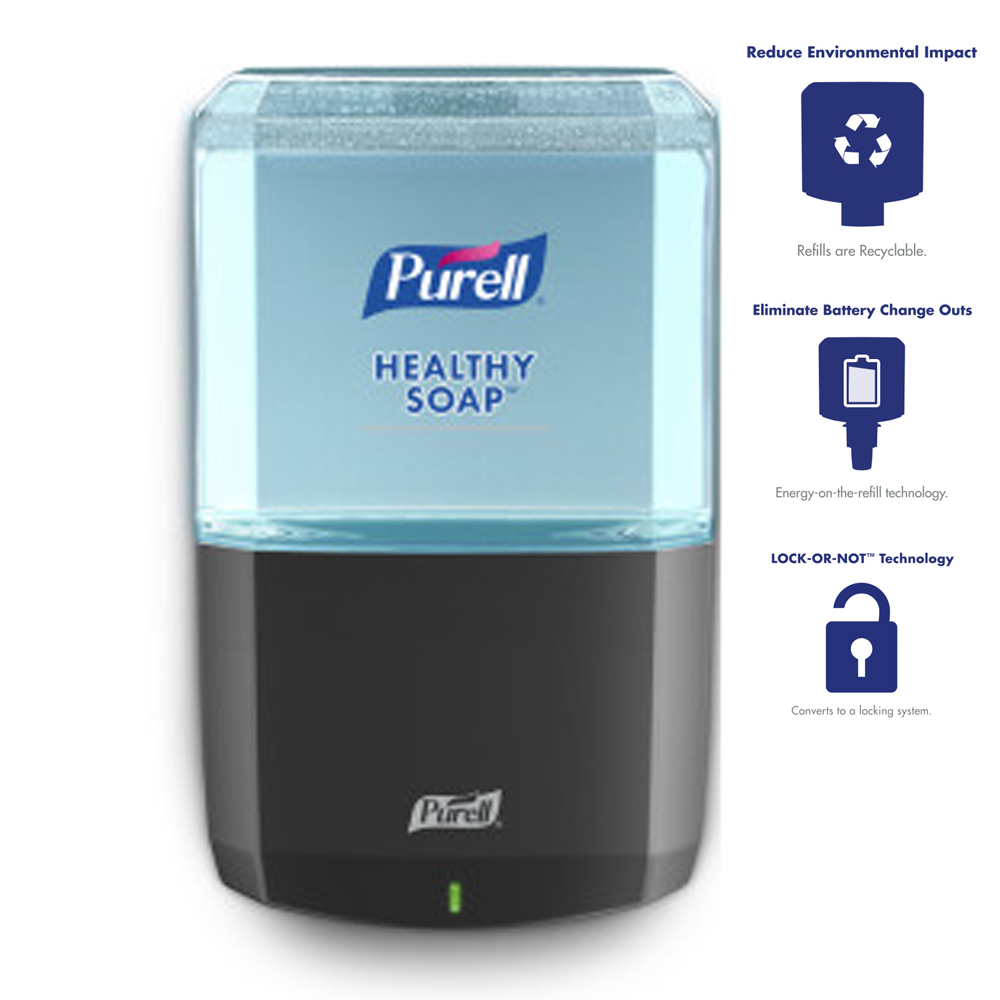 Gojo Purell Graphite ES8 Hand Soap Dispenser 7734-01
