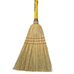 "Culicover & Shapiro Inc. - Wood 34"" Lobby Corn Broom215"