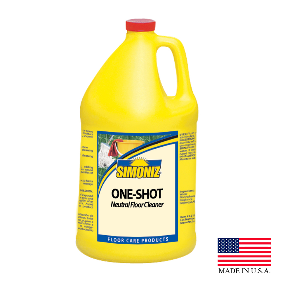 Simoniz 1 Gallon One-Shot All Purpose Floor Cleaner 02445004