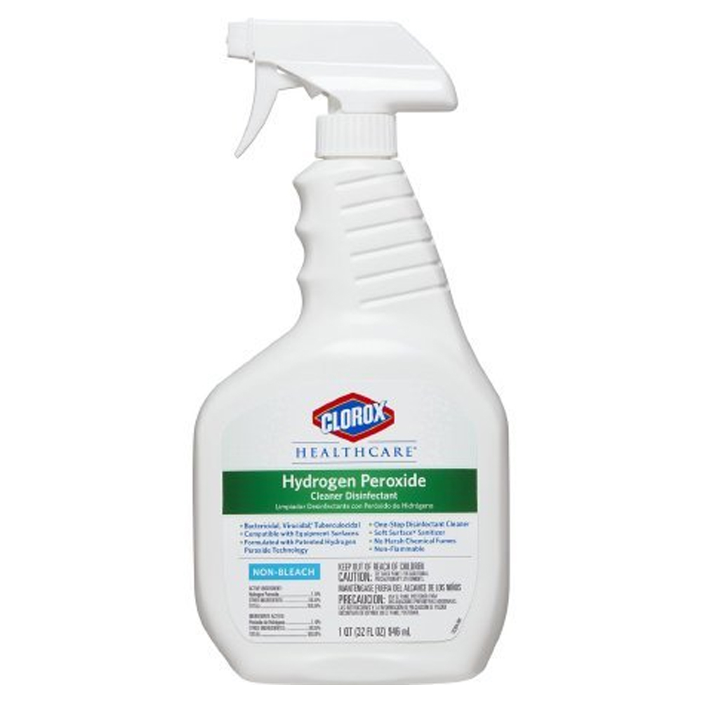 The Clorox Company - Healthcare 32 oz. Hydrogen Peroxide Disinfectant Trigger Spray 30828