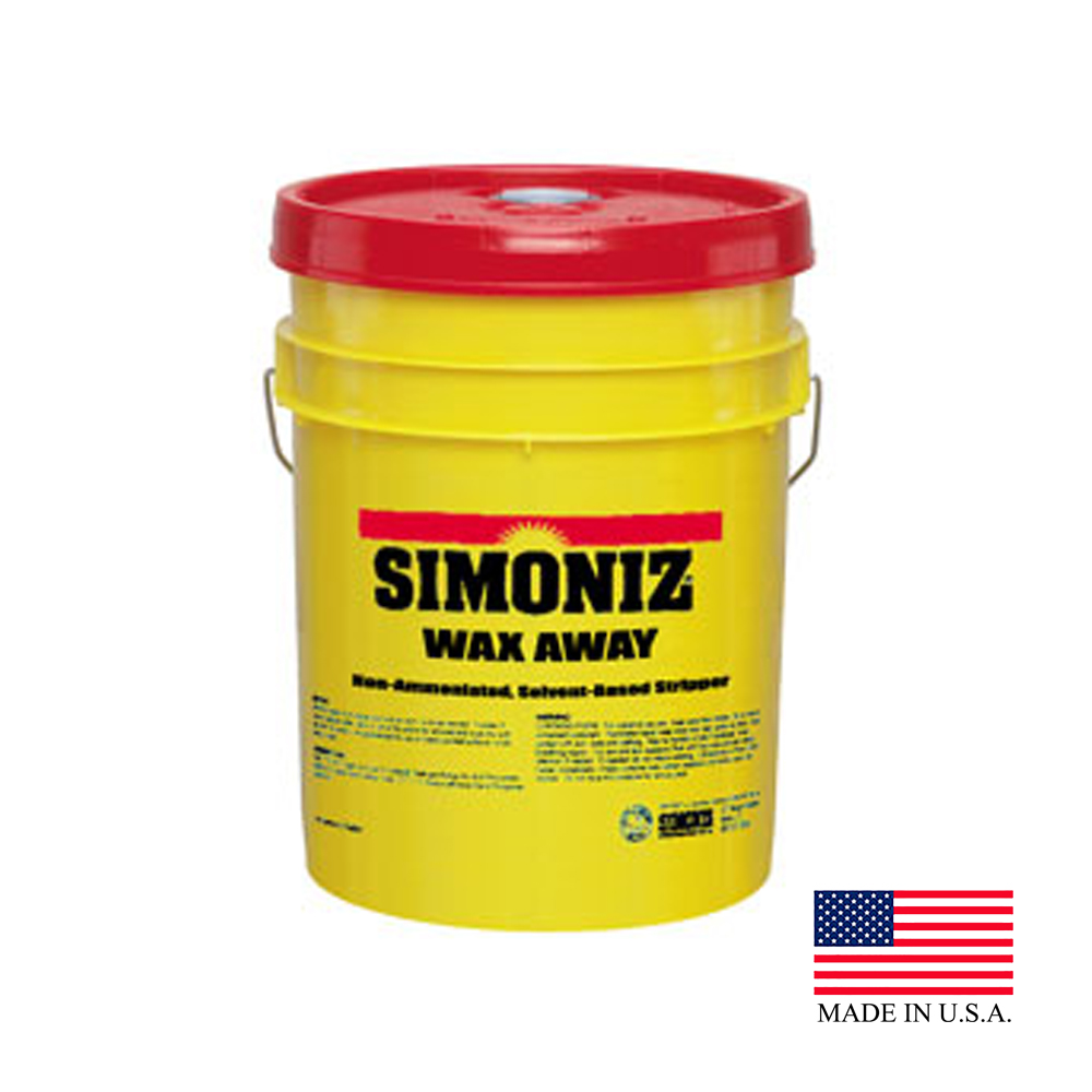 Simoniz USA Inc. - Wax Away 5 Gallon Pail No Rinse Stripper (floors) W4215005