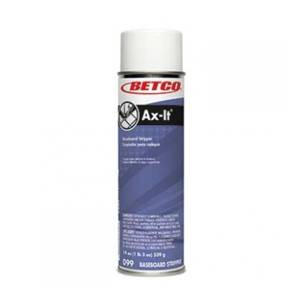 Betco Corp. - AX-IT 19 oz. Aerosol Baseboard      Stripper 0992300