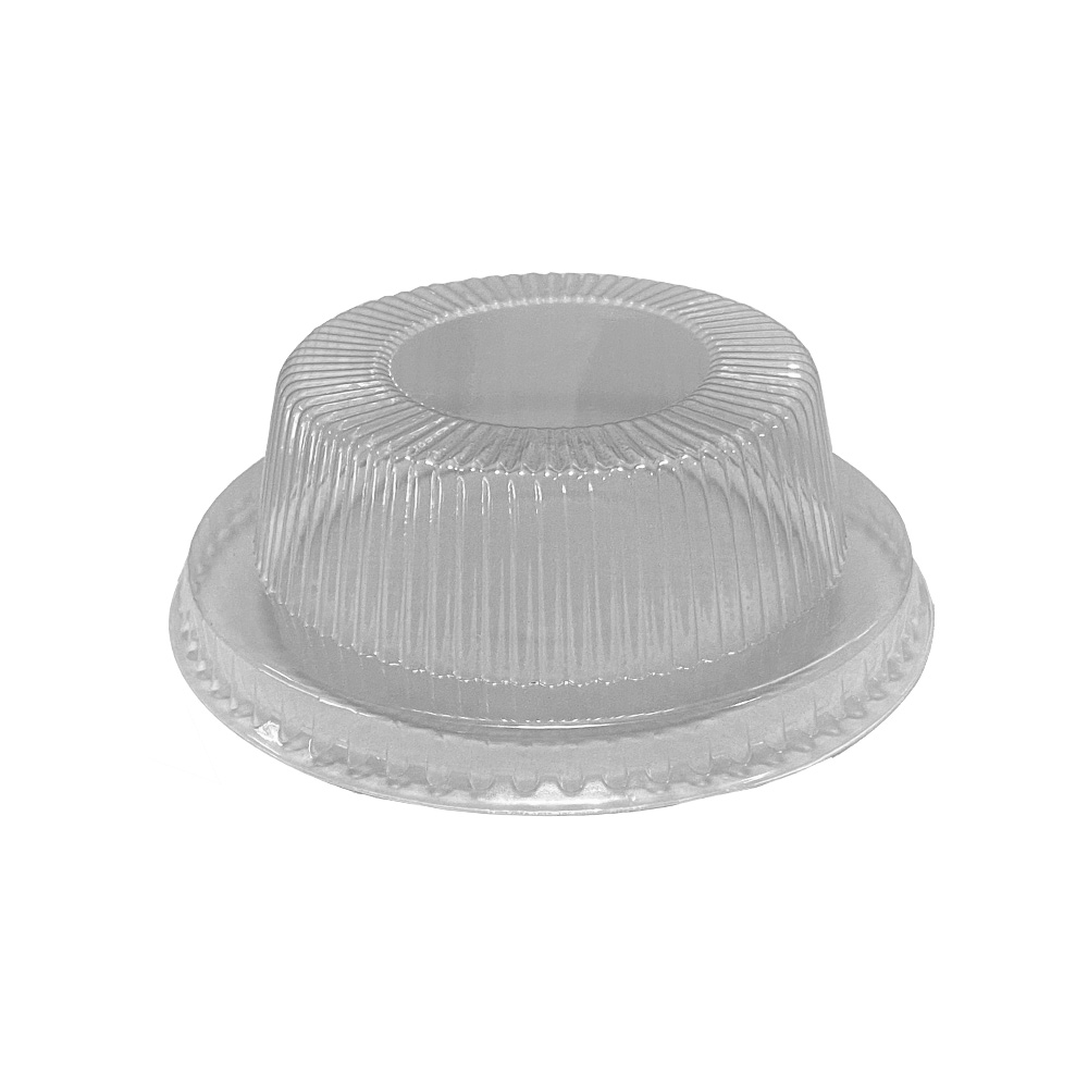 "Clear 1"" High Dome Lid for 5-8 oz. Containers     LD725H"