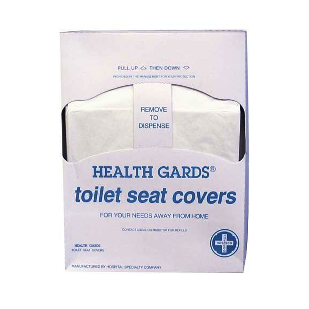 Hospeco 1/4 Fold Health Gard Lever Dispensed       Toilet Seat Covers HG-QTR-125