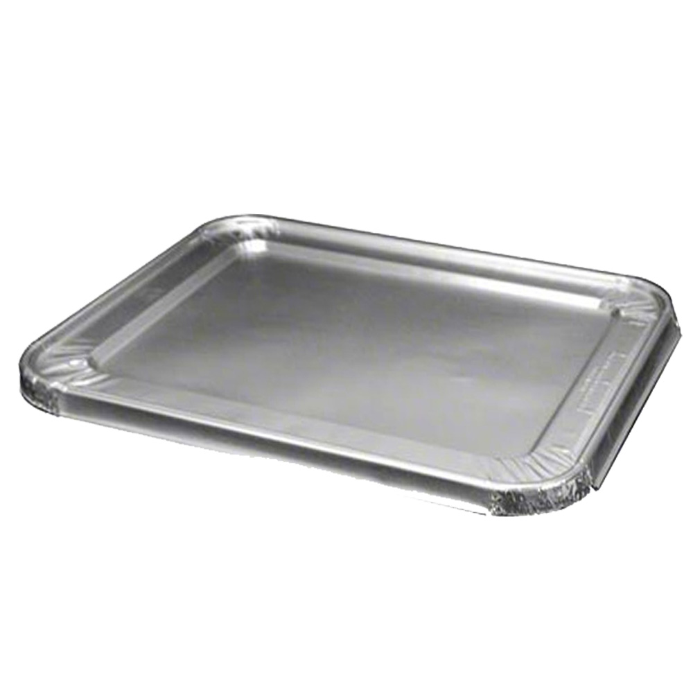 Aluminum 1/2 Size Rectangular Steam Table Lid     2049-00-100