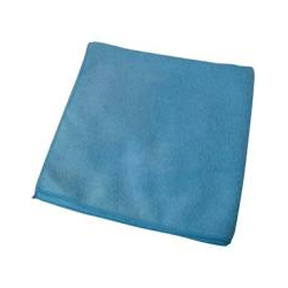 "Impact Products Inc. - Blue 16""x16"" Square Microfiber Suede Glass Cloth LFK100"