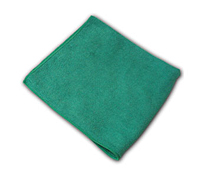 "Impact Products Inc. - Green 16""x16"" Premium Weight Square Microfiber Cloth LFK300"