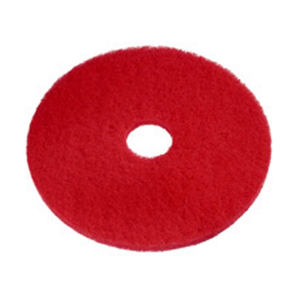 "Netcare Cleaning Red 19"" Buffering Pad 01571"