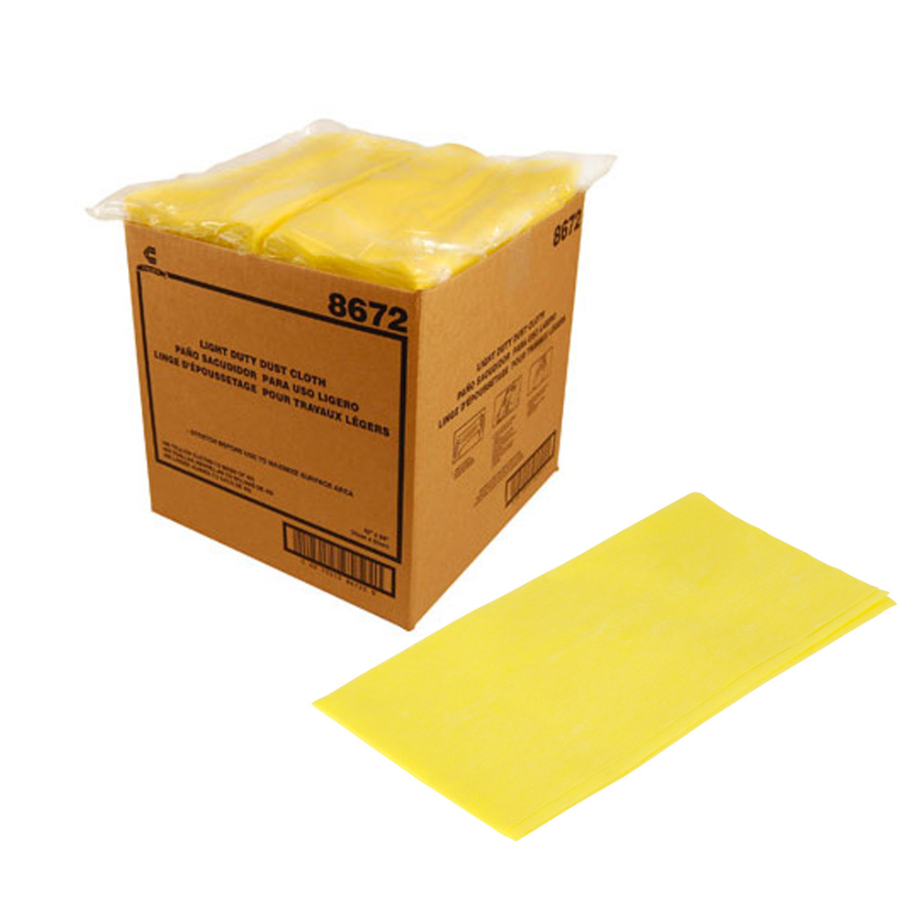 "Chicopee - Masslinn Yellow 12""x24"" Dust Cloth 8672"