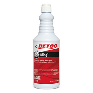 Betco Corp. - Kling 1 Qt 9% Hydrochloric Acid Toilet Bowl Cleaner 0751200