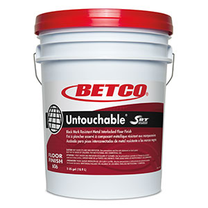 Betco 5 Gallon Pail Untouchable Low Maintenance Floor Finish 6060500