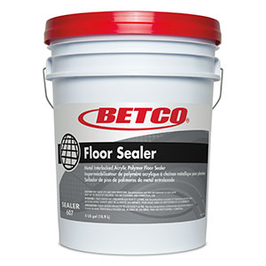 Betco 5 Gallon Pail Metal Interlocked Acrylic Polymer Floor Sealer 6070500
