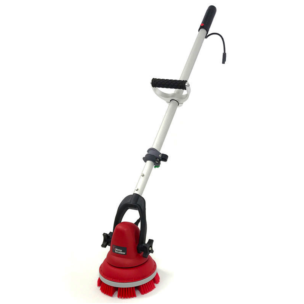 "Motor Scrubber USA Inc. - Red 30""-60"" Scrubber    Starter Kit with Telescoping Handle MS2000M"