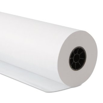 "Conco White 15"" Butcher Paper Roll 15""WH SELECT"
