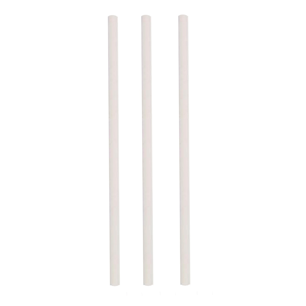 "Hoffmaster - White 8.5"" Unwrapped Paper Straw     600252"