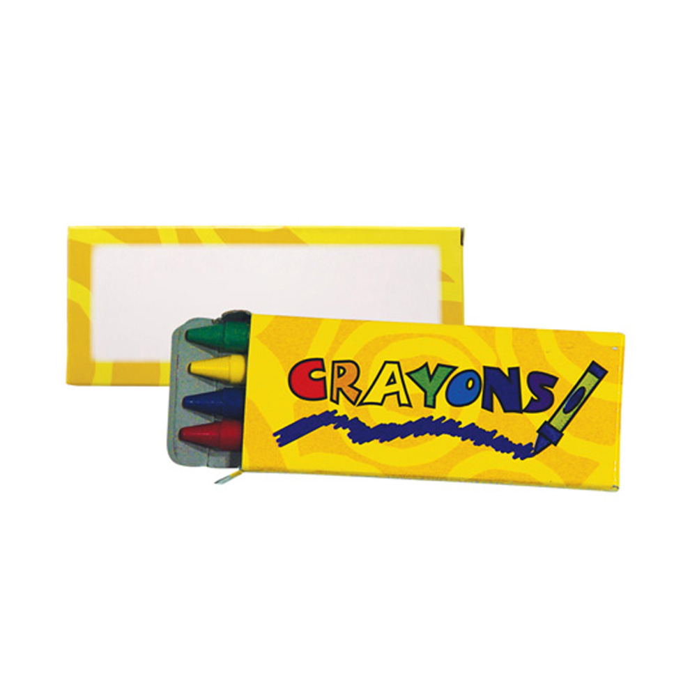 4 Color Crayon Pack S70184