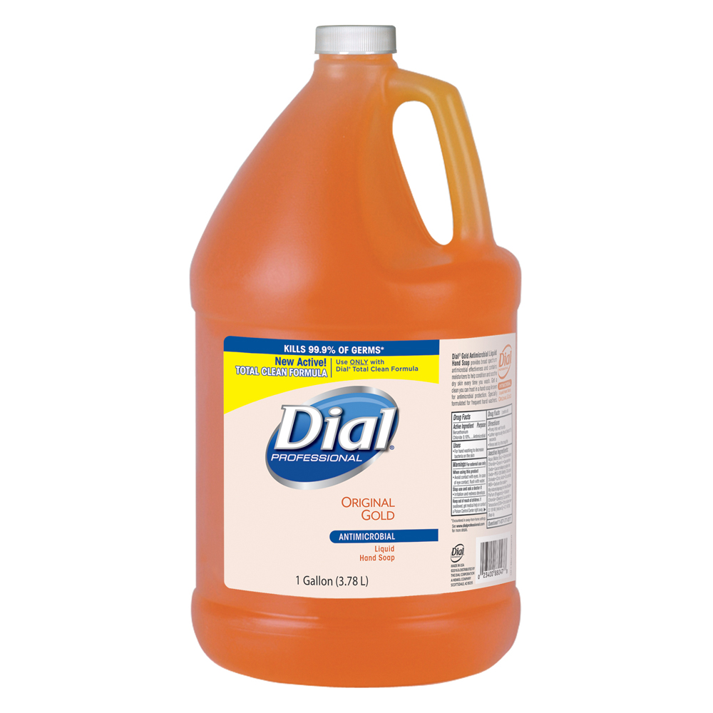 The Dial Corp Gold 1 Gallon Antimicrobial Liquid Hand Soap Refill 724716