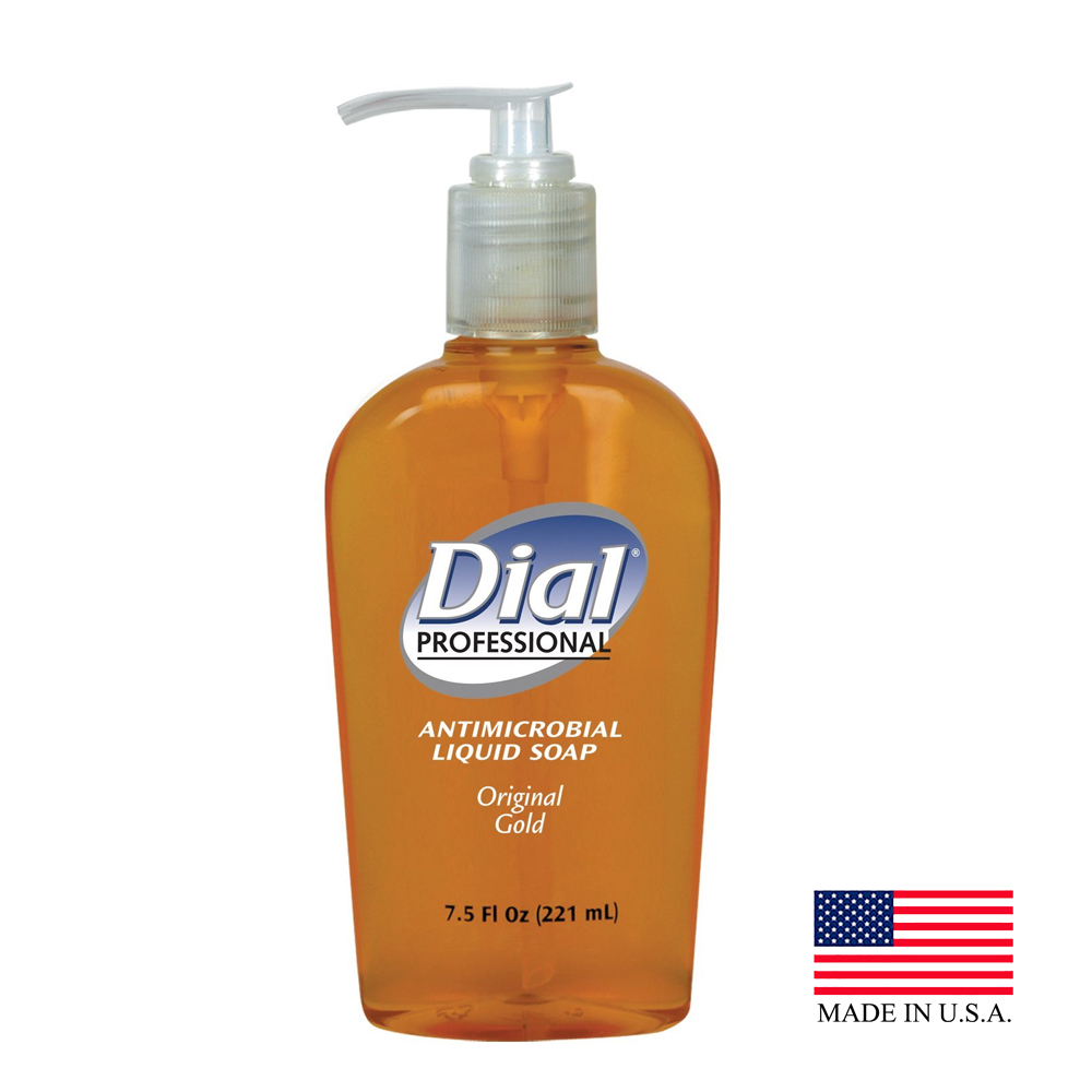 The Dial Corp Gold 5oz Antimicrobial Liquid Pump Hand Soap 084014