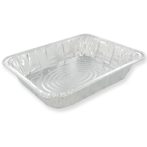 Pactiv Aluminum 1/2 Size Deep Steam Table Pan     Y6132H