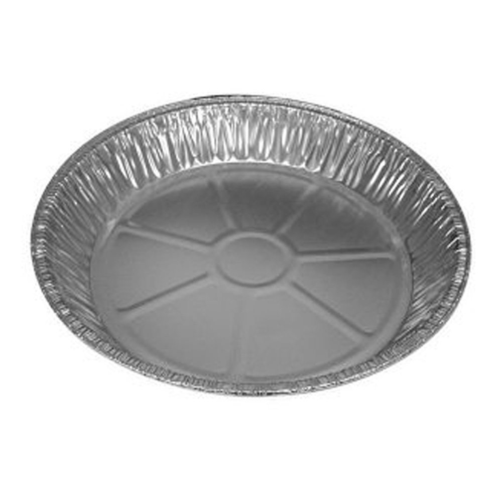 "10"" Aluminum 32oz Deep Pie Pan RC390"