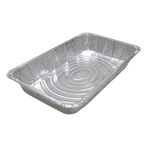Pactiv - Aluminum Full Size Deep Oblong Steam Table Pan Y6050XH