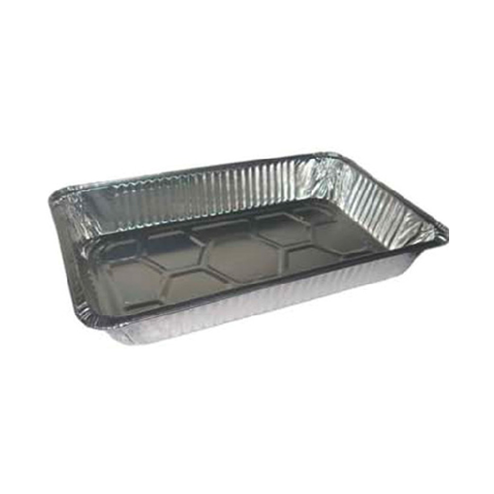 Pactiv - Aluminum Full Size Deep Oblong Steam Table Pan Y6050H