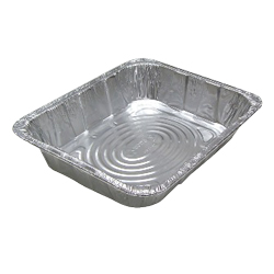 Pactiv - Aluminum Full Size Medium Oblong Steam Table Pan Y6120XH