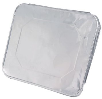 Easy Elegance Aluminum 1/2 Size Foil Steam Table Pan Lid 2012