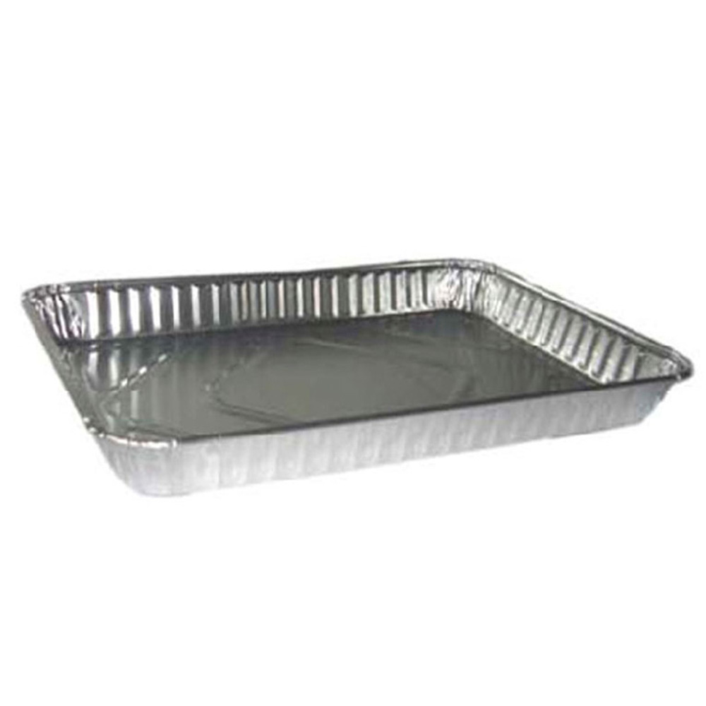 Pactiv - Aluminum 1/4 Rectangular Sheet Cake Pan Y604245
