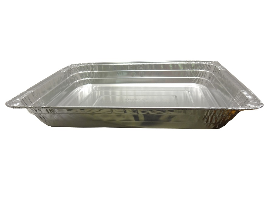 "Pactiv Aluminum 16"" Rectangular Roaster Pan 6611665"