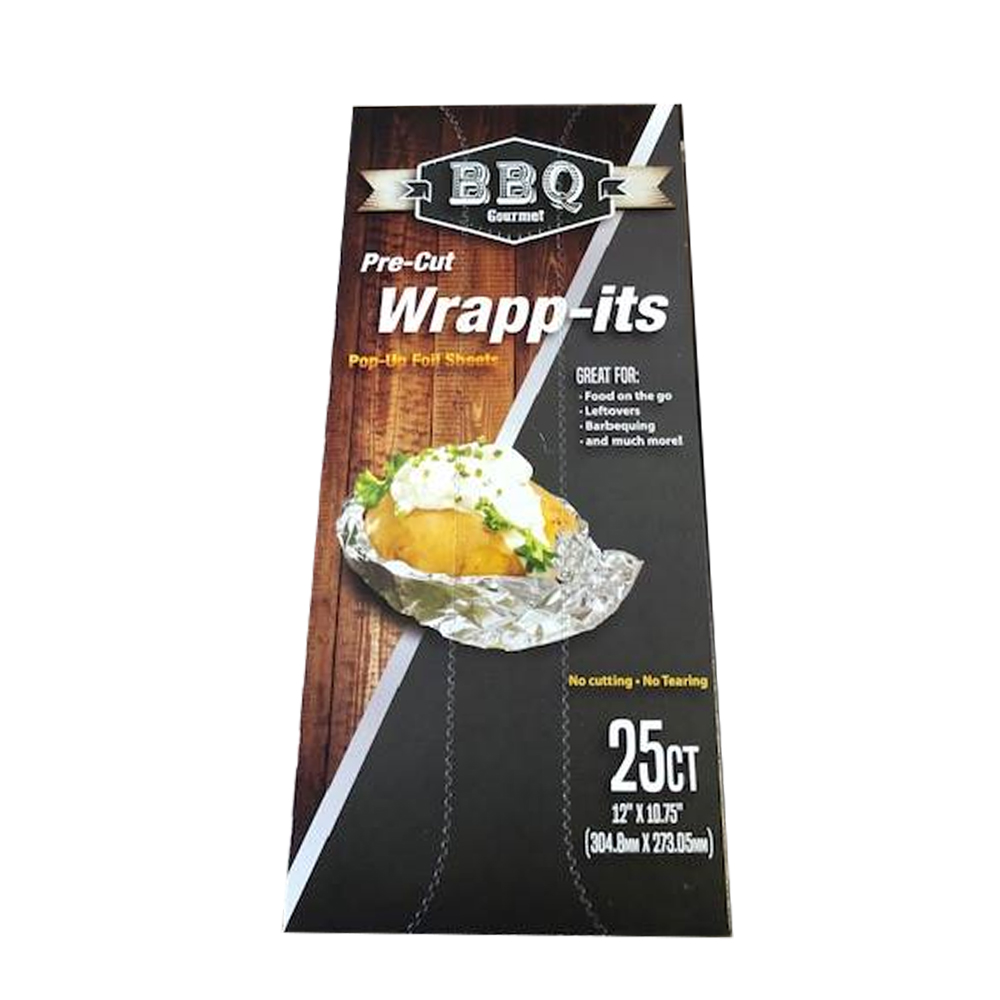"Durable Inc. - Wrap-Its Aluminum 12""x24"" Rectangular Foil Sheet H72501-24"