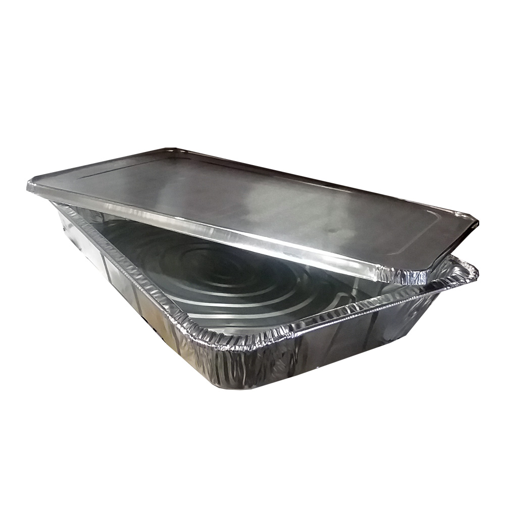 Aluminum Full Size Rectangular Pan And Lid Combo  6050CP