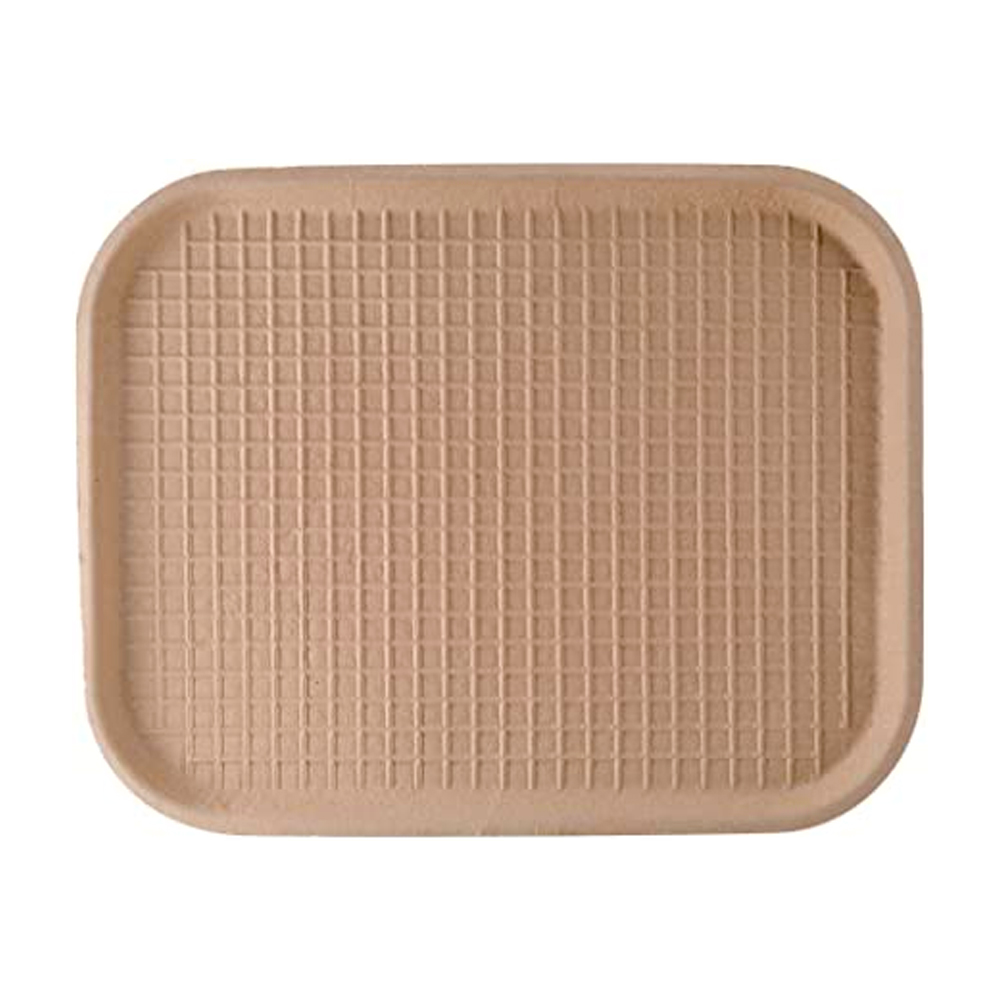 "Green Wave Intl. Inc. - REDO Beige 9""x12"" Fiber   Tray TW-TOO-041"