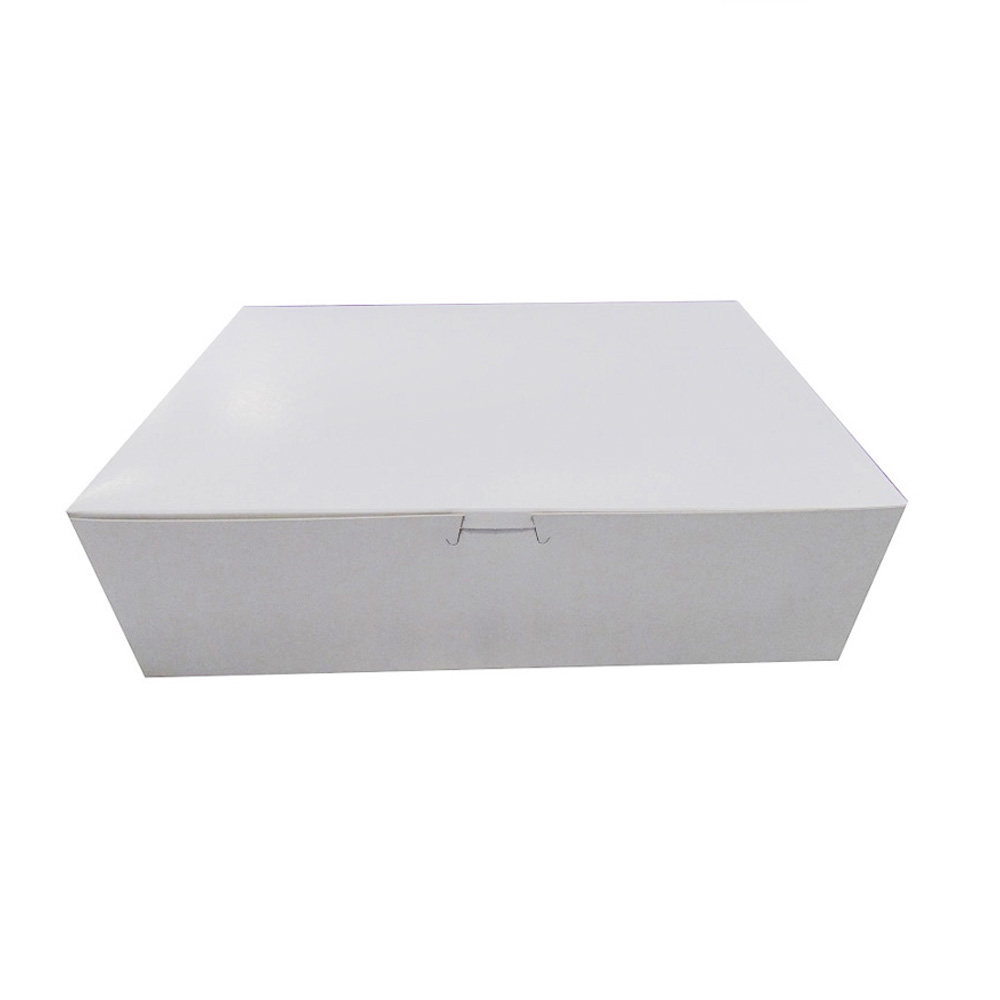 "Boxit Corp White 14""x10""x4"" 12 Cup/mini24 Cup Non  Window Cupcake Box 14104B-261"