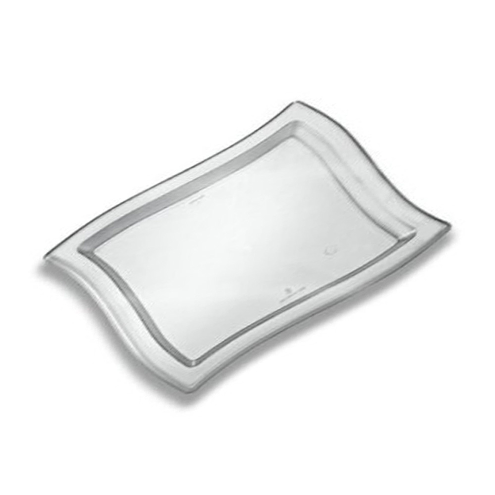 "EMI Yoshi Clear 12""x18"" Rectangular Wave Tray EMI-WT1218CL"