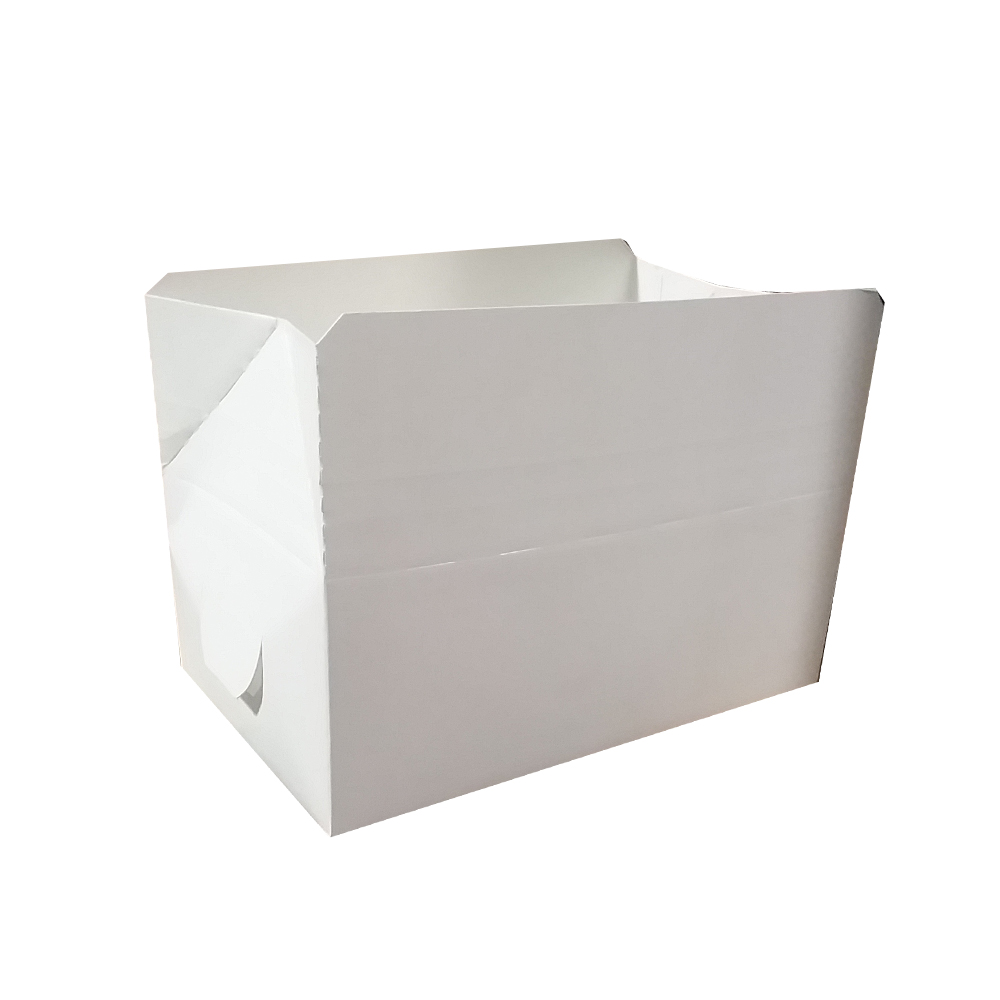 "Special Quality White 7""x4.""x2.75"" Snack Box 3512"