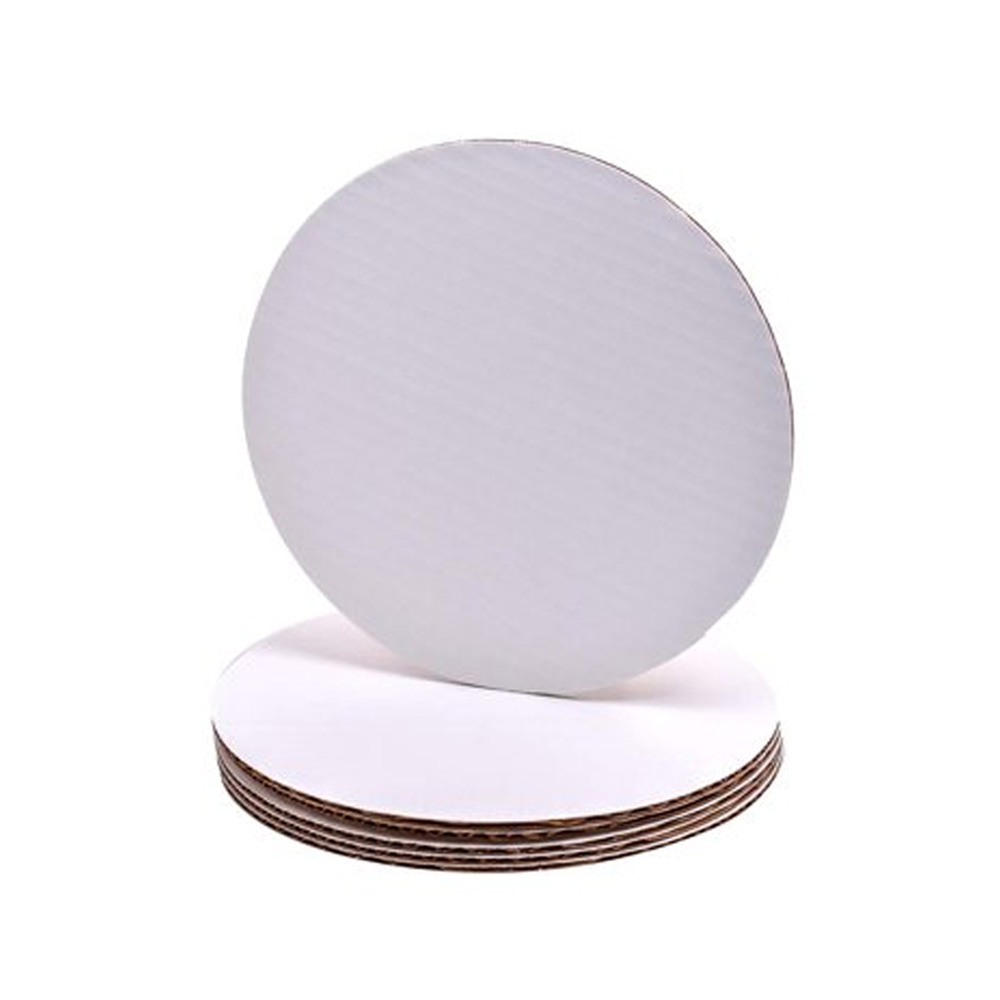"Die Cut Prod. - White 12"" Cake Circle 76092"
