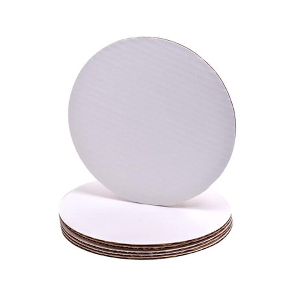 "Die Cut Prod. - White 14"" Top Cake Circle 76093"