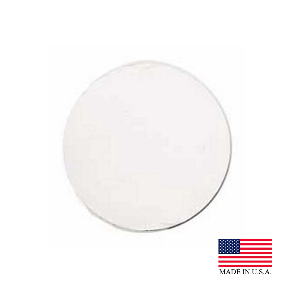 "Die Cut Prod. - White 6"" Corrugated Cake Circle WT6"
