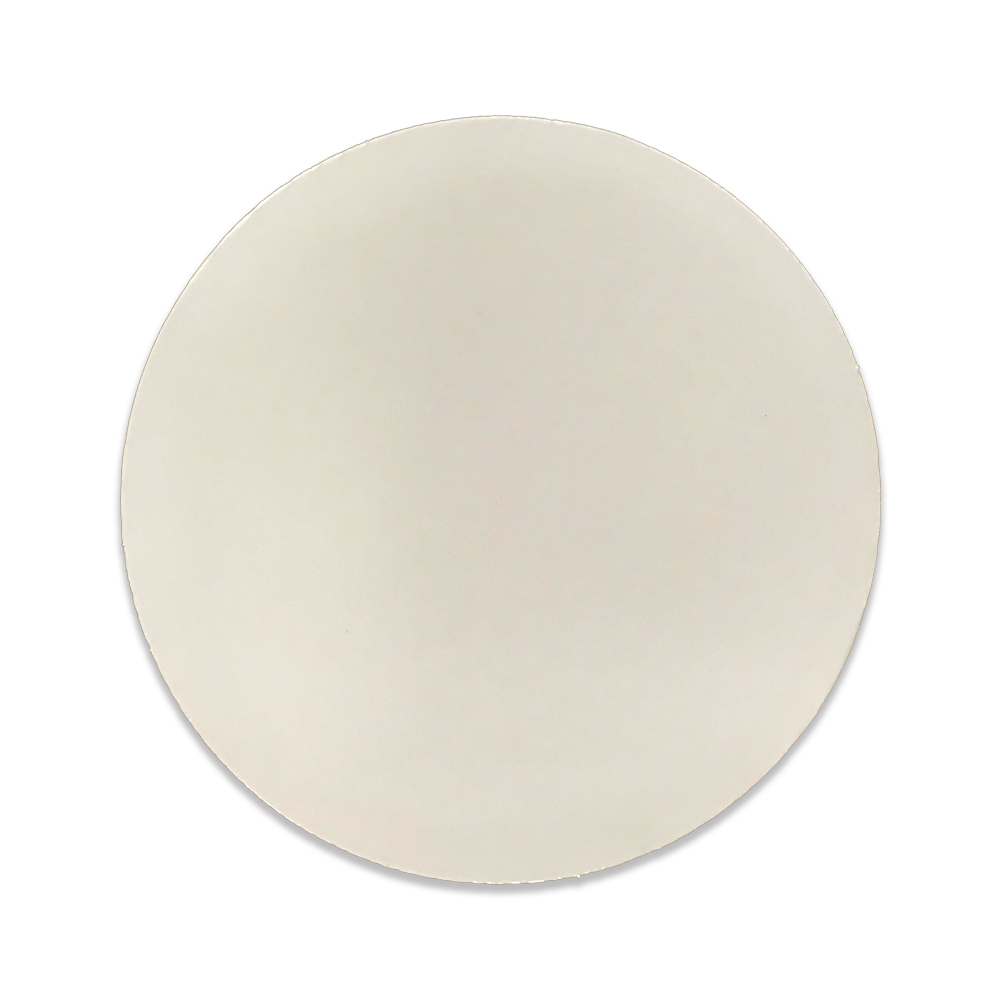 "Lamintech - White 7"" Round Corrugated Cakeboard   BCC-7W-NS"